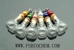 Perfume vial necklace