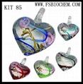 Murano glass necklace pendants