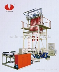 Mulching film blowing machine