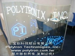 POLYMAGIC™ Glass-- LED Glass/Film