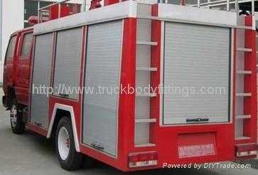 Truck roller shutter 1