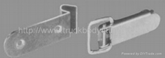 Toggle fasteners and hooks