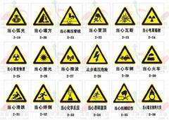 广州交通安全三角警示牌