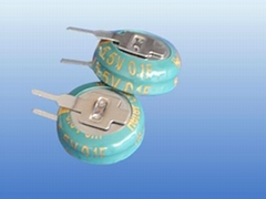 super capacitor of coin5.5V 0.22F-V type (ISO ROHS CE) on sale
