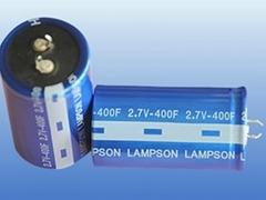 400F/2.7Vsuper capacitor(ISO ROHS CE)