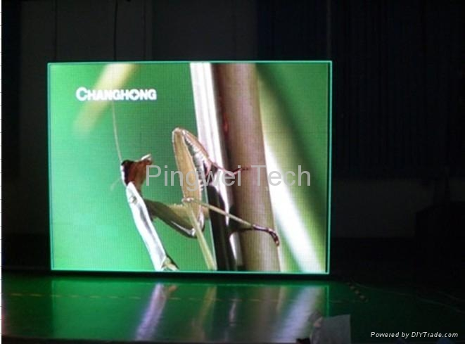 P7.62 indoor strip  led display