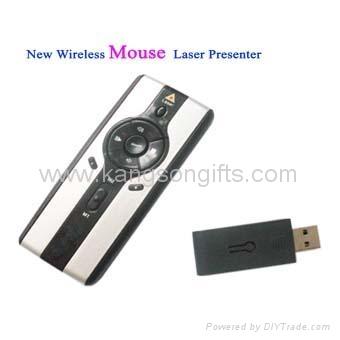 Wireless Mouse Laser Presenter 1