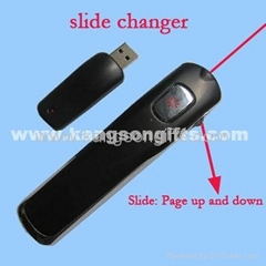 Slide Changer/Powerpoint Laser Presenter