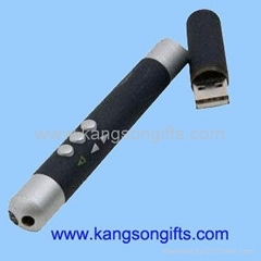 integrative wireless laser pointer