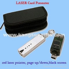 Card Shape Wireless Lase