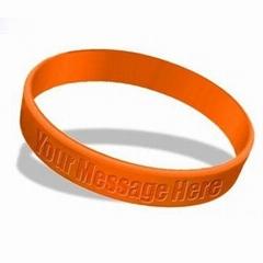silicone bracelet, silicone wristband