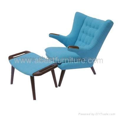 ... Hans J. Wegner Papa Bear Chair 2 ...