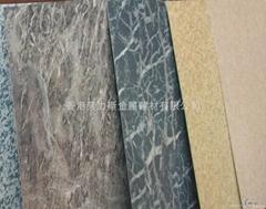 大理石斑纹铝单板压纹