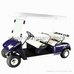 Electric golf car with CE approved  4 seats