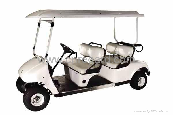 Electric golf car with CE approved  4 seats 2