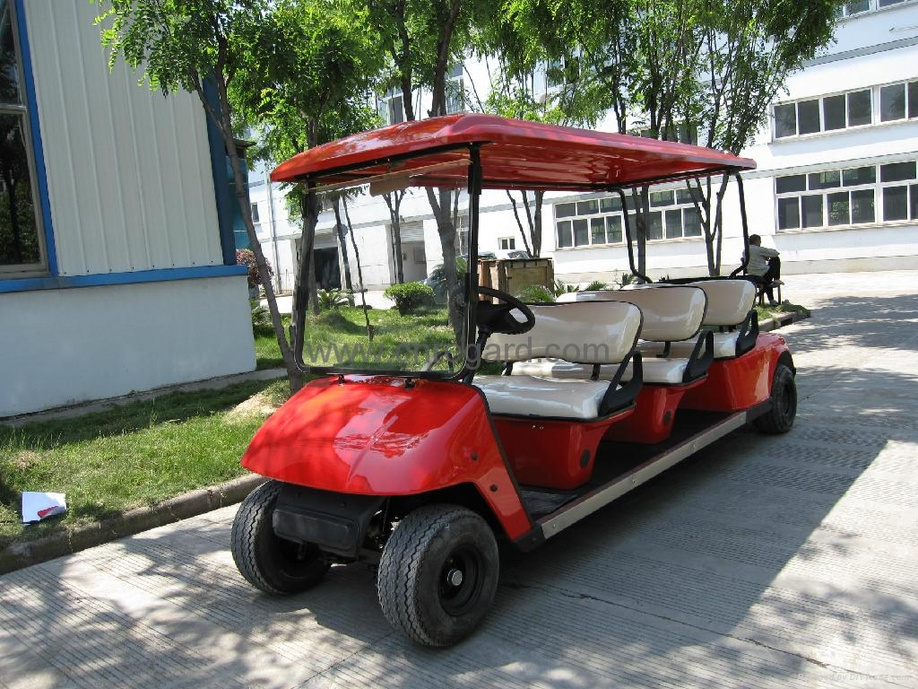 6 Seater Golf Cart Rge500t With Ce Approval Golf Buggy