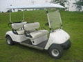 4 seat golf cart with CE approval