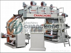 High Speed 4 Color Film Flexo Printing Machine(CH884)