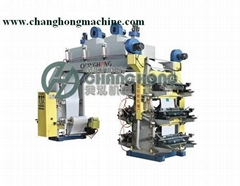High Speed 6 Color Plastic Film Flexo Printing Machine(CH886)