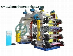 High Speed 8 Color Flexographic Printing Machine(CH888)