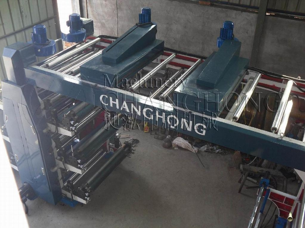 High Speed 8 Color Flexographic Printing Machine(CH888) 2
