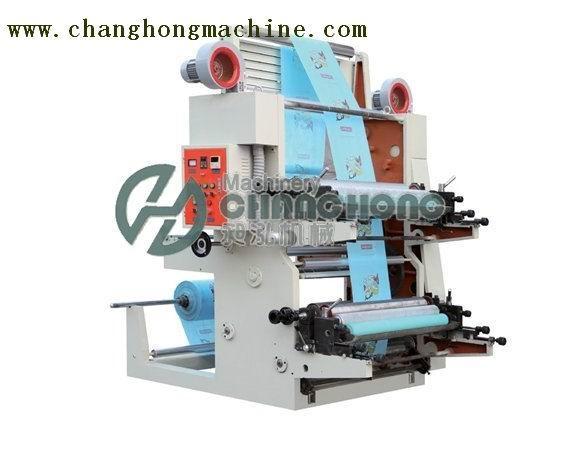 2 Color Film Flexo Printing Machine(CH802) 1
