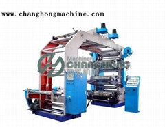 High Speed 6 Color Super-thin Material Flexographic Printing Machine(CH886)