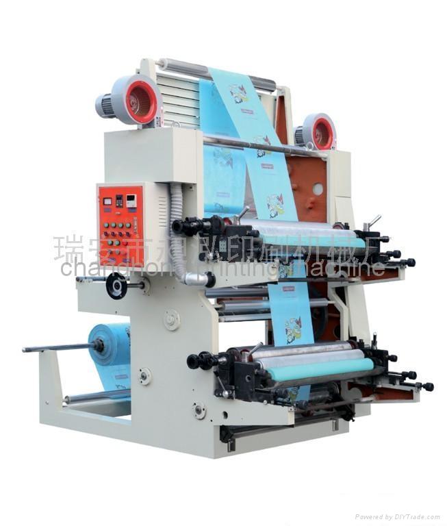 2 Color Film Flexo Printing Machine(CH802) 2