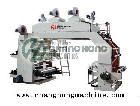 2 Color Film Flexo Printing Machine(CH802) 3