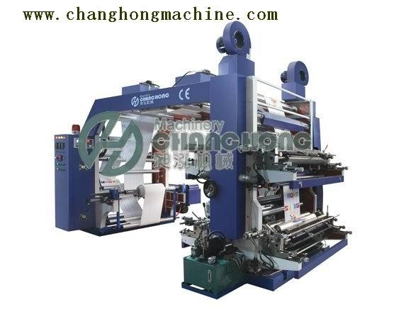 High Speed 4 Color Paper Flex Printing Machine(CH884) 4