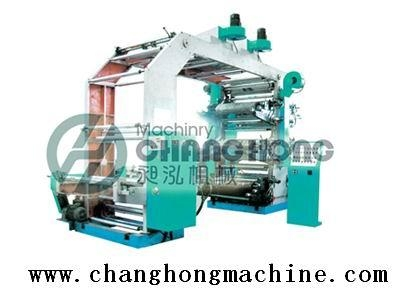 High Speed 6 Color Super-thin Material Flexographic Printing Machine(CH886) 2