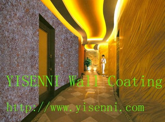 Yisenni Wall Finish Liquid Wall Paper For Interior Design Wall Finish Paint Silk Plaster