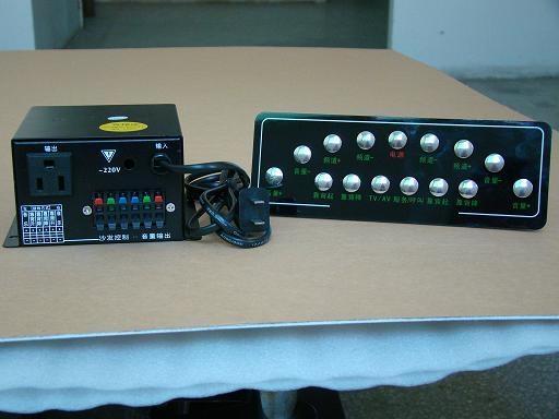 足疗电视全功能控制面板 1