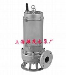 WQP系列不锈钢无堵塞排污泵