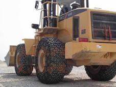 矿山机械轮胎保护链