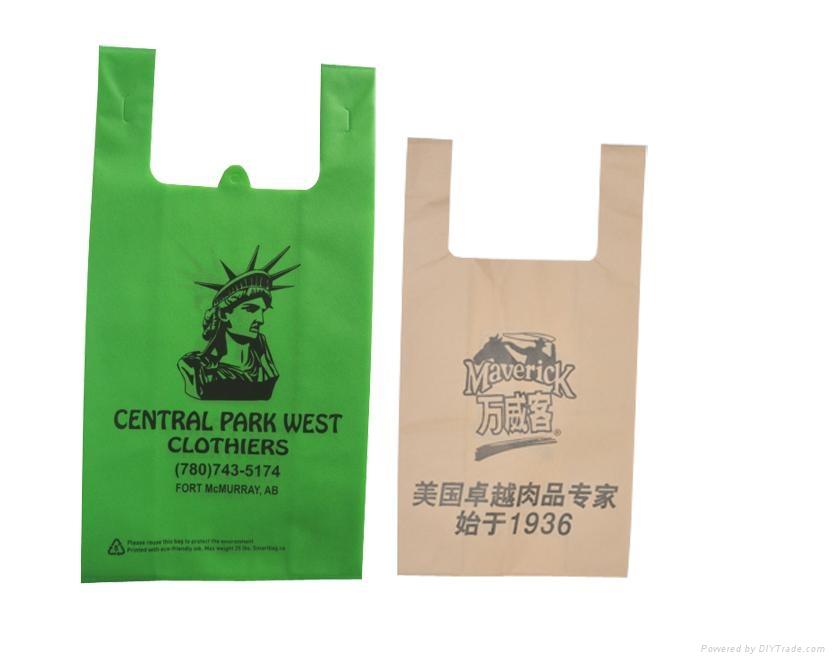 超市環保袋 超市購物袋 超市手提袋 超市無紡布袋 超市背心袋 4