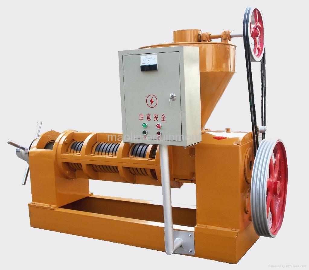Oil press machine oil mill china manufacturer food for Food bar press machine