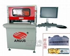 金属表壳激光打标机、控制器激光打标机