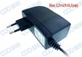 Wall mount switching power adapter