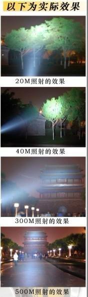 氙氣強光探照燈 5