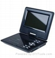 Hot Selling 7.5 Inch Portable DVD Player