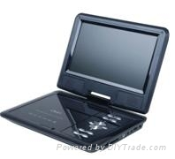 9.5 Inch Portable DVD Player with TV Function