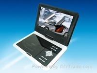 High resolution 9.5 Inch Portable DVD Player