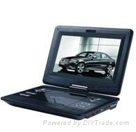 High resolution 10.1 Inch Portable DVD Player