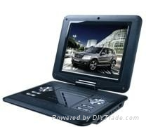 12.1 Inch Portable DVD Player with TV Function  1