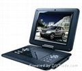 12.1 Inch Portable DVD Player with TV