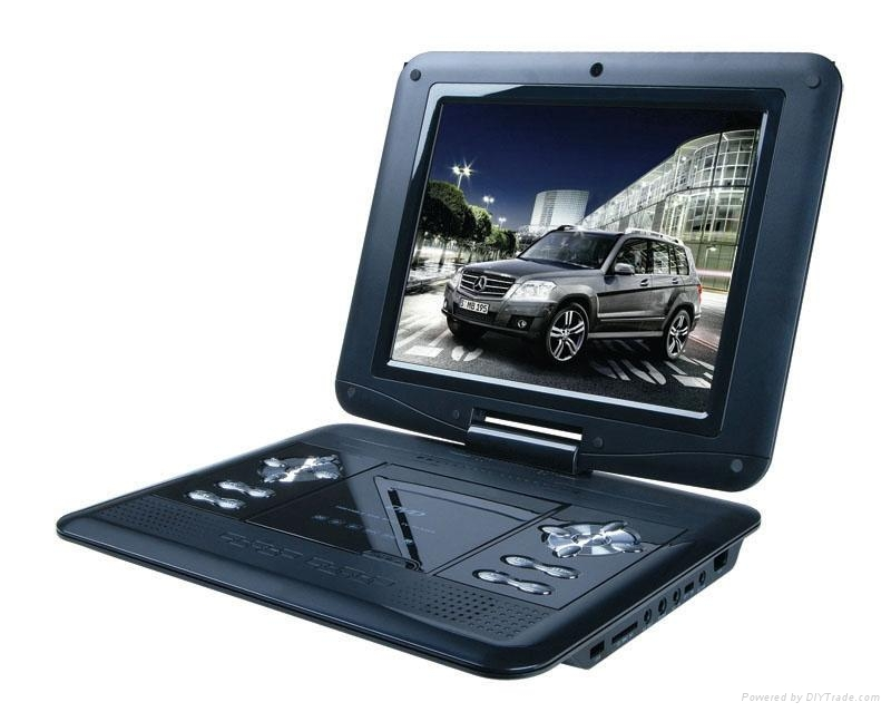 High Resolution 13.3 Inch Portable DVD Player  1