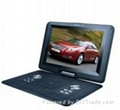 High Resolution 14.1 Inch Portable DVD Player