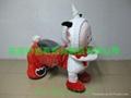 广场毛绒玩具电动车 2