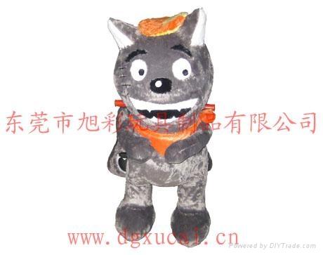 广场毛绒玩具电动车 3